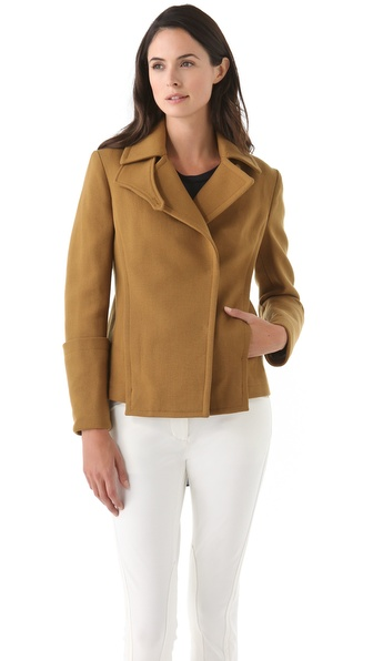 3.1 Phillip Lim Detachable Sleeve Pea Coat