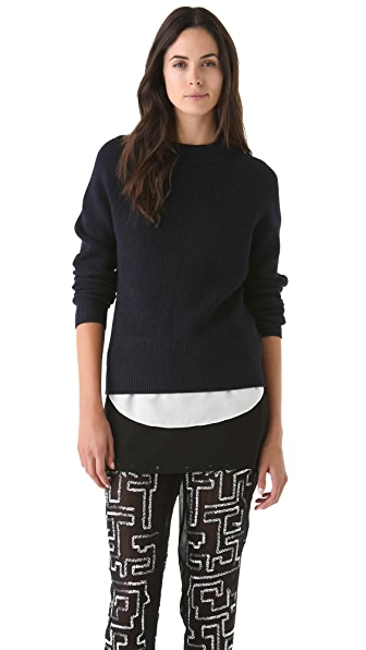 3.1 Phillip Lim Peeled Neck Pullover