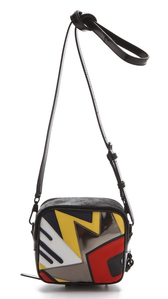 3.1 Phillip Lim Bang Patchwork Cross Body Bag
