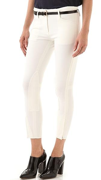 3.1 Phillip Lim Classic Crop Jodhpur Trousers