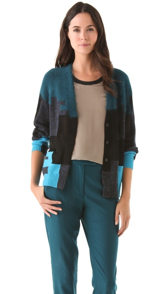 3.1 Phillip Lim Digital Brindle Cardigan