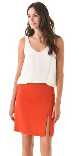 3.1 Phillip Lim Twisted Hem Tank