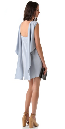 3.1 Phillip Lim Open Back Kite Tail Dress