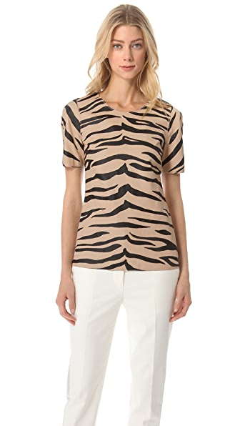 3.1 Phillip Lim Tiger Leather Tee