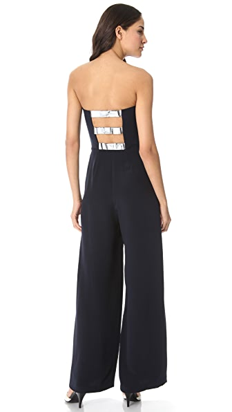3.1 Phillip Lim Metallic Bow Jumpsuit