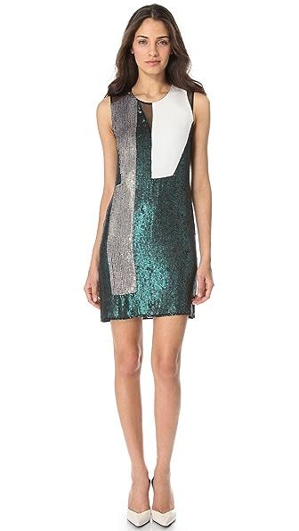 3.1 Phillip Lim Sequin Collage Dress