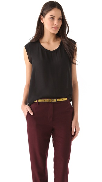 3.1 Phillip Lim Muscle Tee - Black at Shopbop