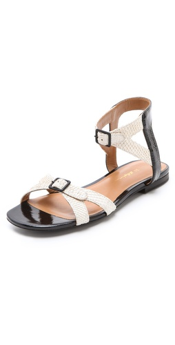 3.1 Phillip Lim Posted Ankle Strap Sandals at Shopbop.com
