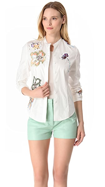 3.1 Phillip Lim Embroidered Scout Shirt