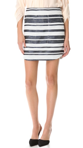 3.1 Phillip Lim Curved Hem Miniskirt