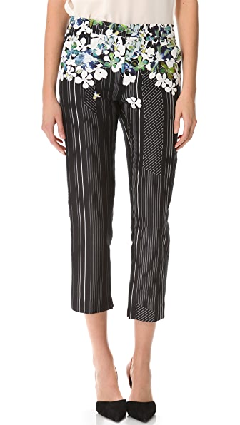 3.1 Phillip Lim Watercolor Pencil Trousers