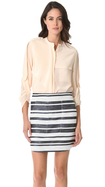 3.1 Phillip Lim Draped Utility Shirt