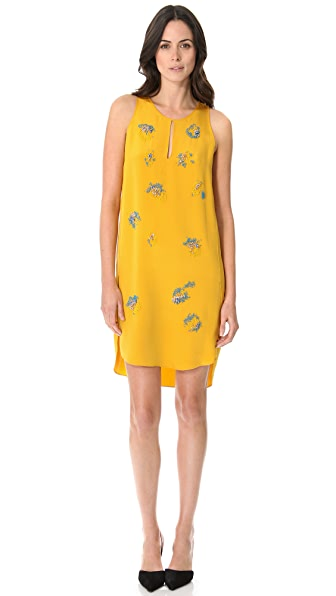 3.1 Phillip Lim Tank Dress with Embroidery