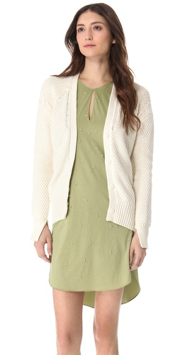 3.1 Phillip Lim Textured Stitch Cardigan at Shopbop.com