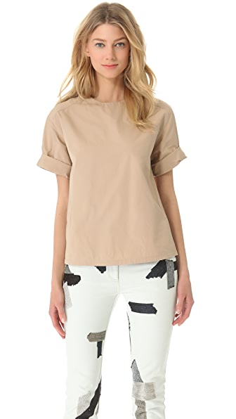 3.1 Phillip Lim Rolled Cuff Top