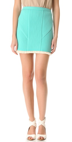 3.1 Phillip Lim Corded Miniskirt