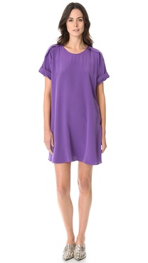 3.1 Phillip Lim Pleated Shoulder Dress
