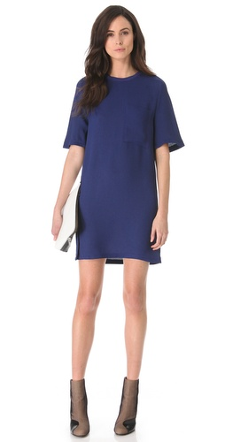 3.1 Phillip Lim Twisted Placket Dress at Shopbop.com