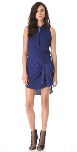 3.1 Phillip Lim Tie Waist Dress with Collar at Shopbop.com