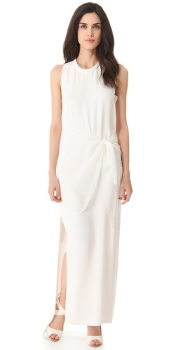 3.1 Phillip Lim Tie Waist Column Gown at Shopbop.com