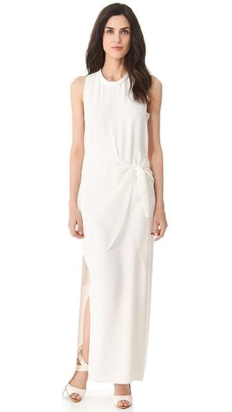 3.1 Phillip Lim Tie Waist Column Gown