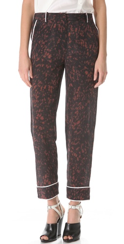 3.1 Phillip Lim Spotted Pony Pajama Trousers at Shopbop.com