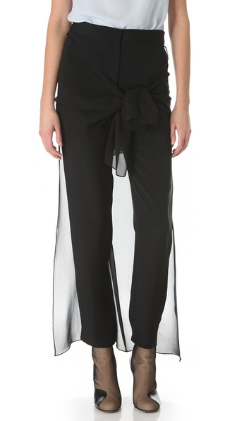 3.1 Phillip Lim Waist Tie Skirted Trousers