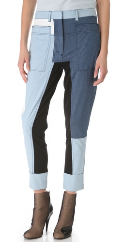 3.1 Phillip Lim Cut Up Surf Pants at Shopbop.com
