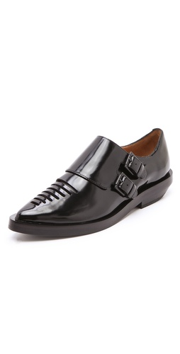 3.1 Phillip Lim Lissy Monk Strap Oxfords at Shopbop.com