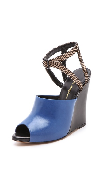 3.1 Phillip Lim Juliette Wedge Sandals