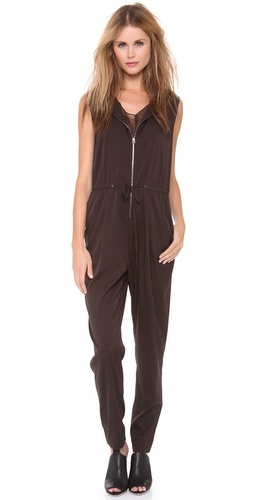 3.1 Phillip Lim Sleeveless Drape Neck Jumpsuit at Shopbop / East Dane