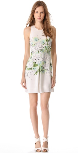 3.1 Phillip Lim Distorted Chrysanthemum Dress at Shopbop.com