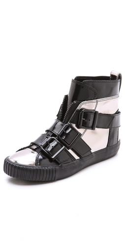 3.1 Phillip Lim Lyon Buckle Sneakers - Shopbop