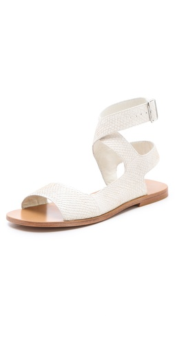 Shop 3.1 Phillip Lim Lily Cutout Flat Sandals - 3.1 Phillip Lim online - Footwear,Womens,Footwear,Sandals, at Lilychic Australian Clothes Online Store