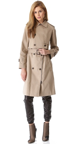 3.1 Phillip Lim Layered 2 Piece Trench