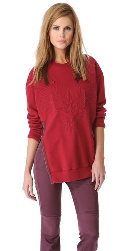 3.1 Phillip Lim Quilted Phoenix Sweatshirt