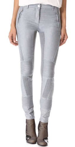 3.1 Phillip Lim Moto Pants with Ponte Inserts at Shopbop / East Dane