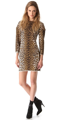3.1 Phillip Lim Leopard Sweatshirt Dress at Shopbop / East Dane