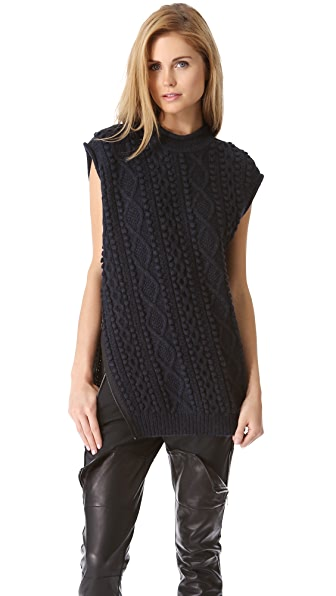 3.1 Phillip Lim Zip Sweater Vest