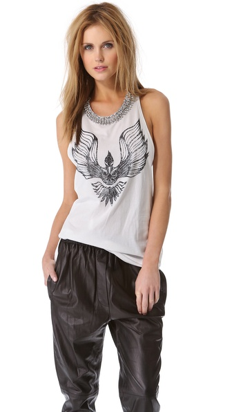 3.1 Phillip Lim Phoenix Tank with Beaded Collar
