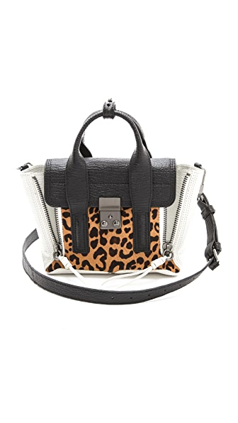 3.1 Phillip Lim Pashli Mini Haircalf Satchel