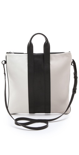 3.1 Phillip Lim Tricolor Slim Tote Bag at Shopbop / East Dane