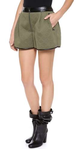 3.1 Phillip Lim Pleat Front Shorts at Shopbop / East Dane