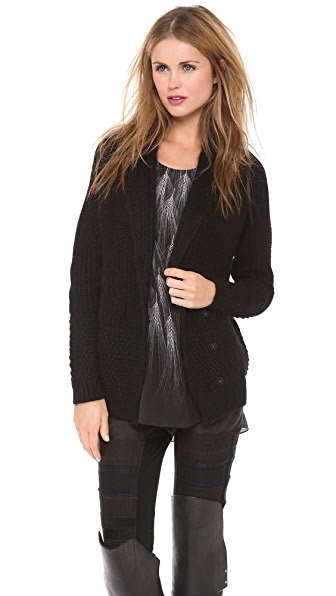 3.1 Phillip Lim Mix Stitch Shawl Cardigan