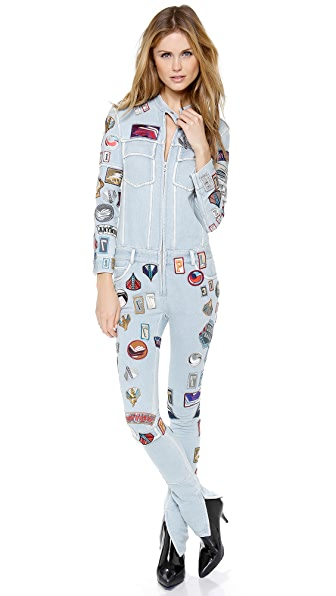 3.1 Phillip Lim Patch Zipper Jumpsuit