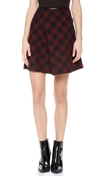 3.1 Phillip Lim Sculpted Flare Skirt