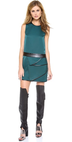 3.1 Phillip Lim Sleeveless Dress with Cascading Drape at Shopbop / East Dane