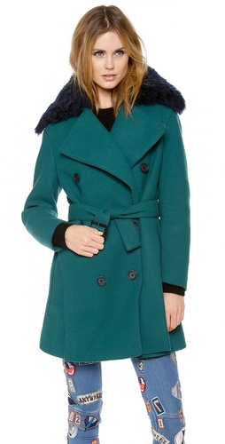 3.1 Phillip Lim Pea Coat with Detachable Collar at Shopbop / East Dane