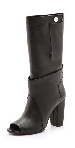 3.1 Phillip Lim Issa Peep Toe Boots - Shopbop