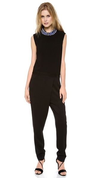 3.1 Phillip Lim Embellished Collar Jumpsuit